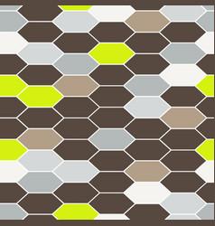 mosaic tiles seamless pattern vector image vector image