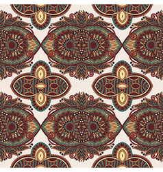 vintage floral paisley seamless pattern vector image