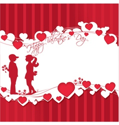 Romantic story vector