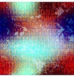 rune seamles background vector image