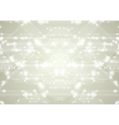 Abstract shiny tech design vector