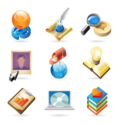 Icon concepts for web vector image