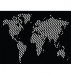 stripe world vector image vector image