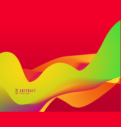 Resd background with bright colors wave vector