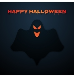 Stock happy halloween ghost vector