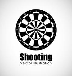 Target shooting design vector