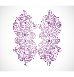 Abstract isolated shape vector image vector image