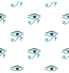 Eye of horus pattern seamless vector