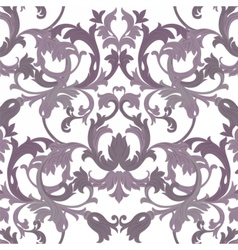 Exquisite baroque element damask pattern vector