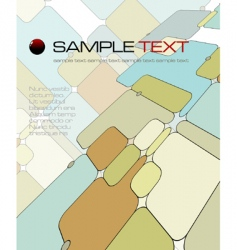 abstract composition vector image