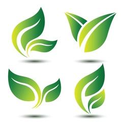 Leaf symbol vector
