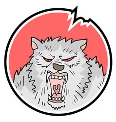 Wild animal symbol vector