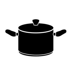 big cooking pot icon image vector image vector image