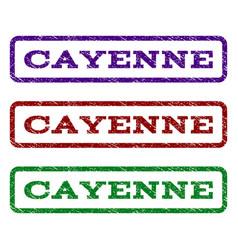 Cayenne watermark stamp vector