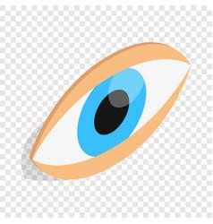 eyes isometric icon vector image vector image