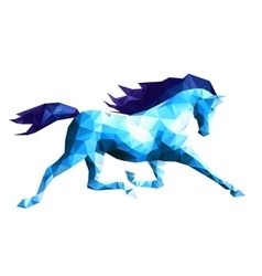 Running Horse vector image