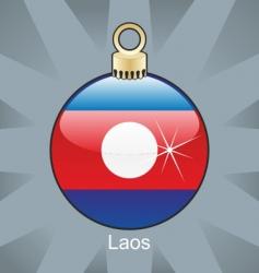Laos bulb vector image vector image