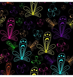 Abstract seamless background pattern vector