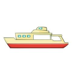 Big ship icon cartoon style vector image vector image