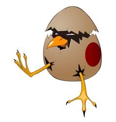 Character chicken vector
