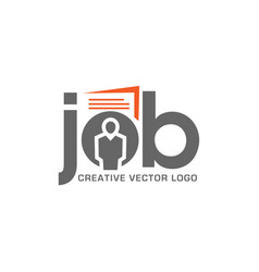 Job interview and hunting career vector