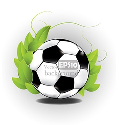 Sports ball design vector image