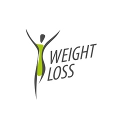 Weight loss logo vector