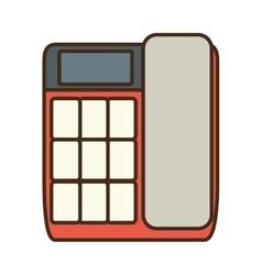 Cartoon telephone communication talk conversation vector