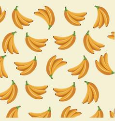 Banana fruit tropical food wallpaper vector