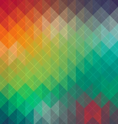 Spectrum geometric pattern vector