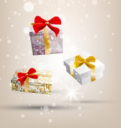 3d present box design vector