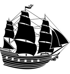 Caravel vector