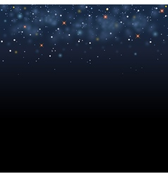 Magic star shine sky magical glitter sky space vector image