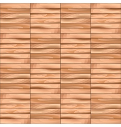 Oak Decking Parquet Wooden Seamless Pattern vector image