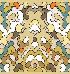 Vintage oriental seamless pattern vector