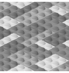 Seamless construction plastic colourful blocks vector