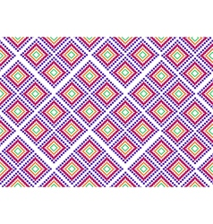 Pink purple rural geometric ornament vector