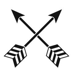 Arrows lgbt icon simple style vector