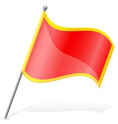 flag of Montenegro vector image vector image