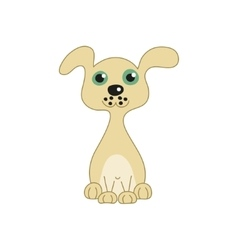 funny doggy vector image vector image