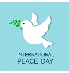 dove symbol of peace vector image