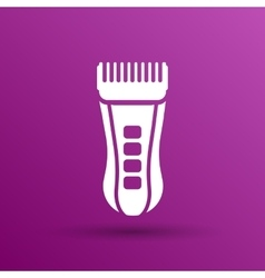 Hairclipper accessory appliance vector