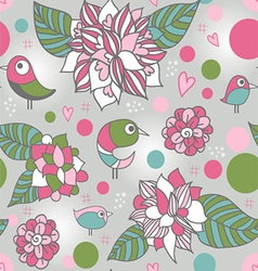 Bird pattern vector