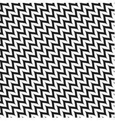 Zigzag diagonal chevron seamless pattern vector