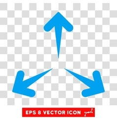 Expand Arrows Round Eps Icon vector image