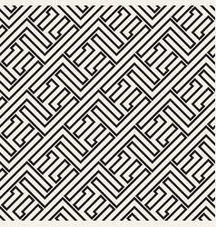 Maze tangled lines contemporary graphic vector