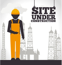Construction design vector