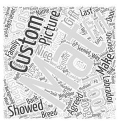Custom floor mats word cloud concept vector