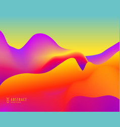 Elegant abstract background with bright vibrant vector