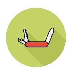 Knife icon vector